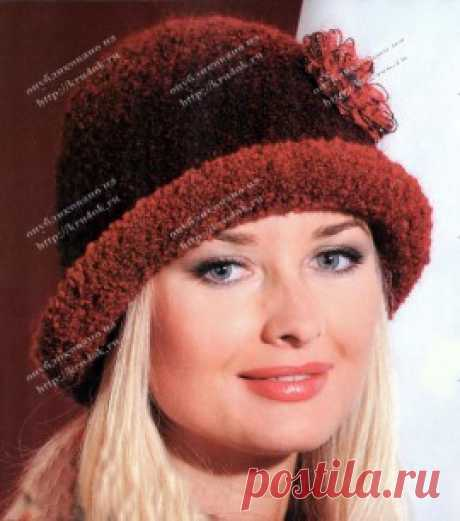 Связанная крючком шляпка - вязание крючком на kru4ok.ru
