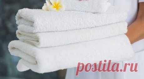 Как сделать полотенца белыми без кипячения и стирки: проверенный рецепт! » Женский Мир