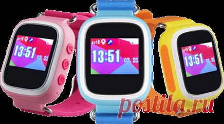 Очень классные детские часы с gps-трекером Smart Baby Watch Q80. Всем рекомендую! Оригиналы,  низкая цена.