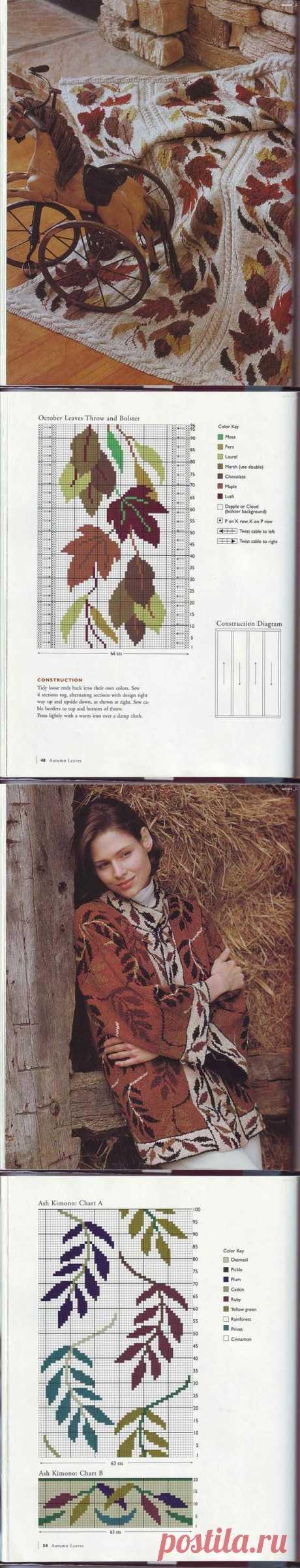 (111) Журнал «Sasha Kagan's Country Inspiration» . | вязание(жаккард,вышивка) | Постила | Схемы