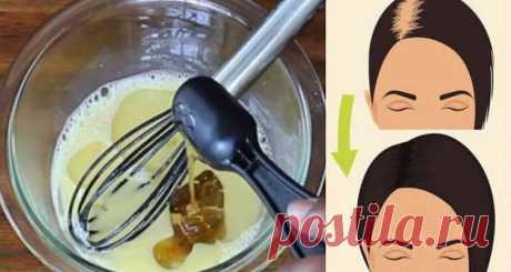 Эти три ингредиента остановят выпадение волос,восстановят их силу и блеск за 1 раз! - Образованная Сова