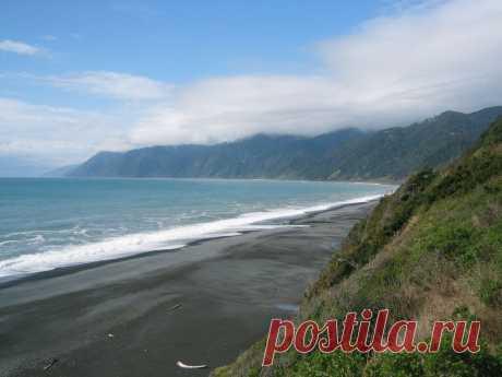 Невероятные пляжи с черным песком - Путешествуем вместе
