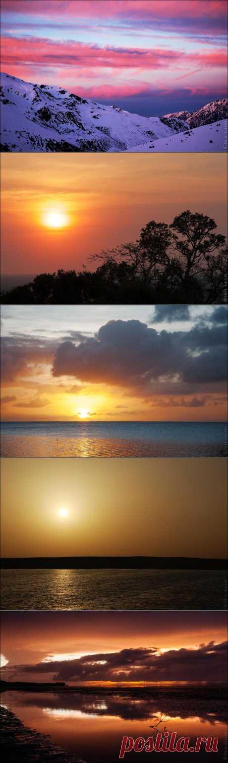 » Закатные краски со всего мира Это интересно!