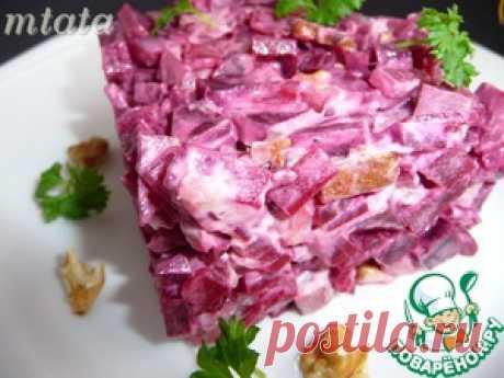 Beet and turkey salad - the culinary recipe