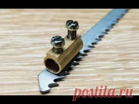 Сделай и себе такой инструмент для электролобзика / хитрости мастеров / Top DIY