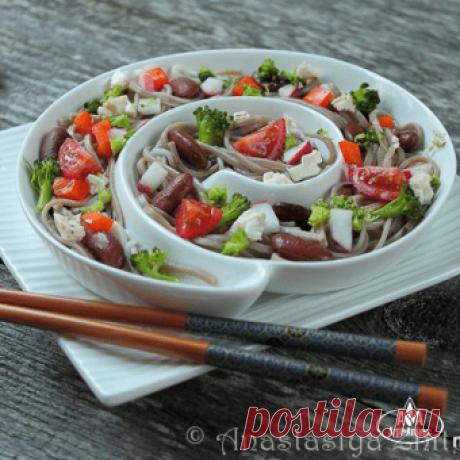 Лапша с фасолью | Вкусный и полезный рецепт | Мир Круп