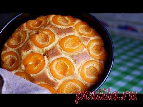 Нежнейший Абрикосовый Пирог на йогурте. Быстрый в приготовлении - запись пользователя Sana (Оксана) в сообществе Болталка в категории Кулинария