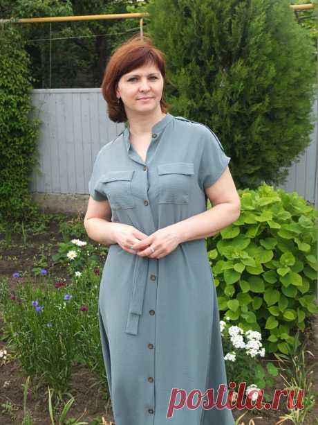Платье-рубашка / ELena Is / 03.06.2020 / Фотофорум на BurdaStyle.ru