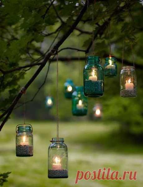 романтика в саду