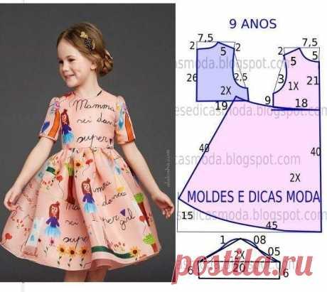 Los vestidos para la muchacha