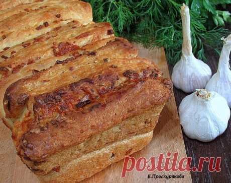 Чесночный хлеб от Евгении Проскуряковой