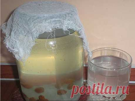 Рисовый квас для выведения солей из организма