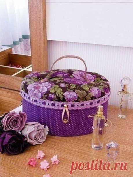 Рукодельный чемоданчик для творчества