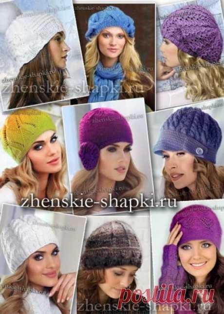 Модные вязаные шапки 2016-2017: фото модных женских шапок для зимы 2016-2017 года