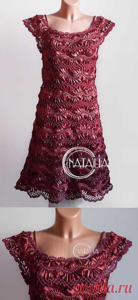 [Зарезервировано] цветок вилка использовать (восемь): шелковая лента платье - yani1234 журнал - Netease блог