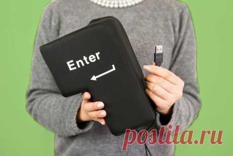 Большая портативная клавиша enter от usb