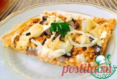 Пицца за 20 минут на тонком лаваше - кулинарный рецепт