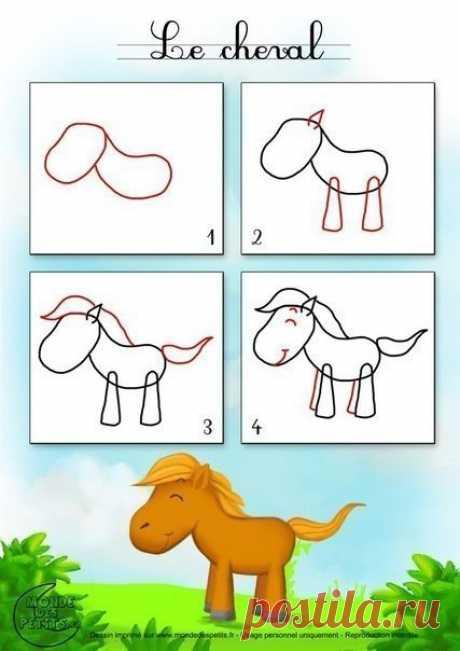 Веселые уроки рисования для малышей — Поделки с детьми