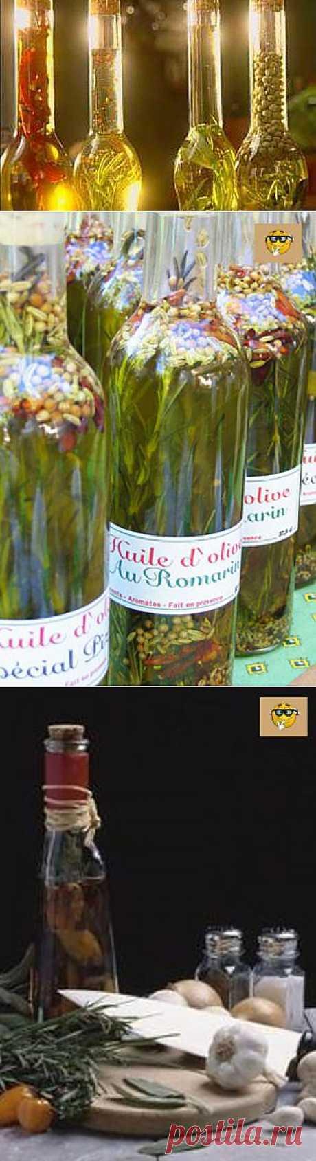Как настоять оливковое масло с чесноком. Кухонные мелочи