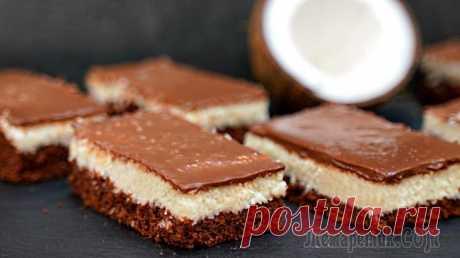 Пирожное Баунти: намного нежнее и вкуснее, чем конфеты из магазина