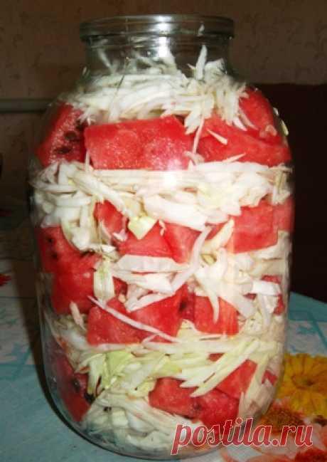 Для любителей капусты и арбузов!