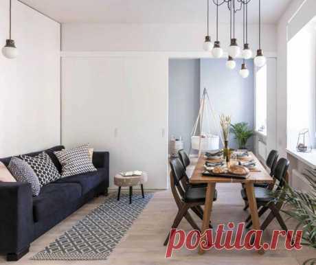 Квартира для молодой семьи в акварельных тонах | flqu.ru - квартирный вопрос. Блог о дизайне, ремонте