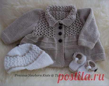 Baby Knitting Pattern Download PDF от PreciousNewbornKnits