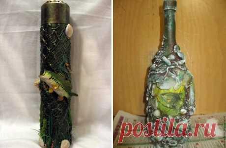 Как украсить бутылку своими руками Хотите сделать незабываемый подарок или как-то особенно декорировать интерьер? Предлагаем вам узнать, как украсить бутылку своими руками с помощью подручных материалов. Читайте дальше об оригинальных ...
