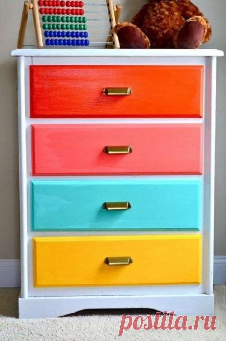 11 вещей, которые нужно покрасить, чтобы интерьер стал ярким и стильным