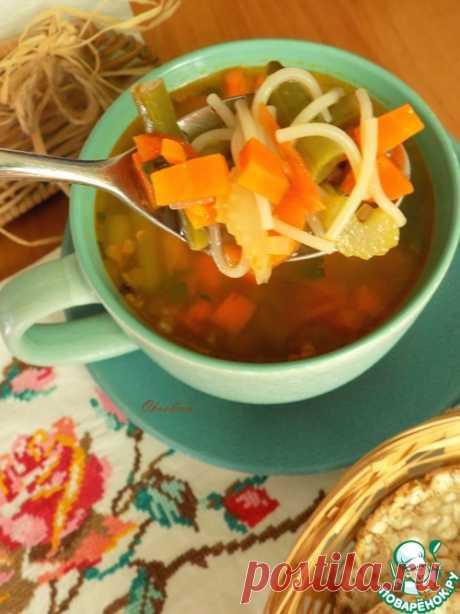 """Овощной суп """"Почти минестроне"""" – кулинарный рецепт"""