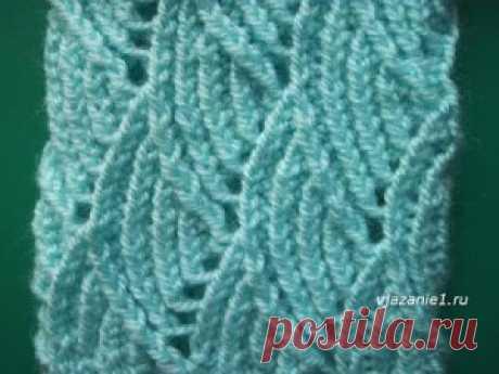 Ажурная резинка | О вязании