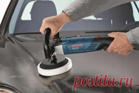 Как выбрать полировальную машинку для полировки авто