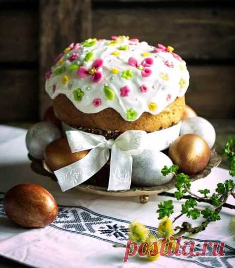 Пасхальный кулич: рецепт и украшение ~ ALL-DEKOR.RU