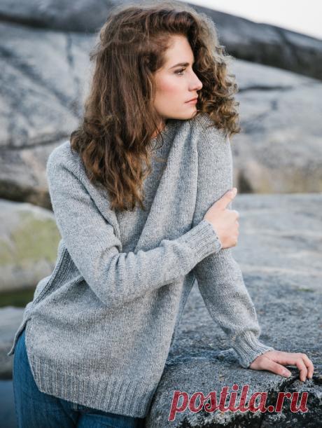 Вязаный свитер Mokki | ДОМОСЕДКА