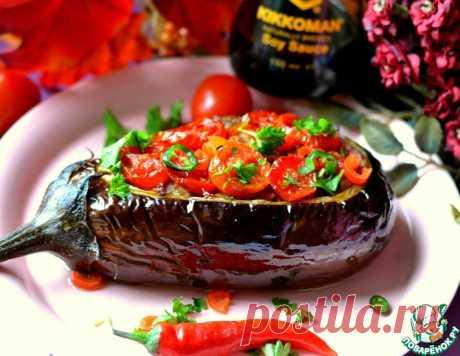 Баклажаны фаршированные – кулинарный рецепт