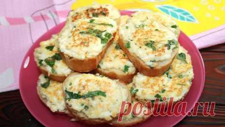 Сытные бутерброды на завтрак