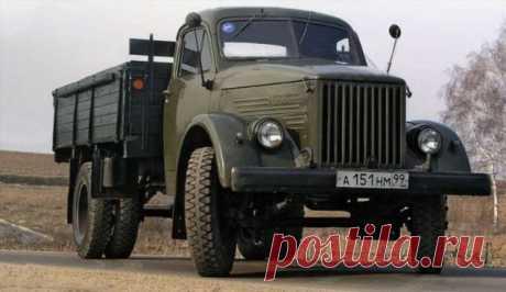 Самый массовый советский грузовик ❘ авто . Тут забавно !!!