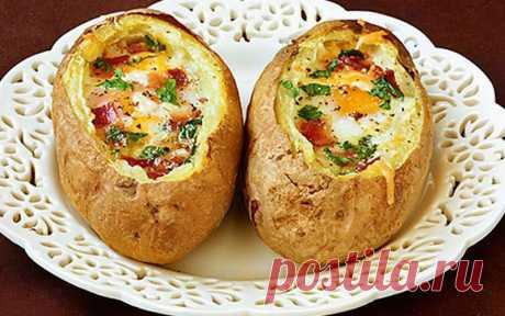 Печеный картофель «Особенный»