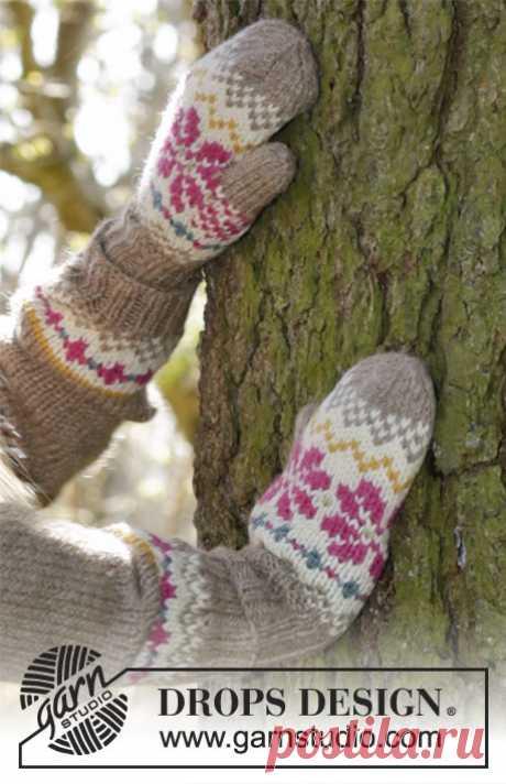 Children's mittens Steppe fairy