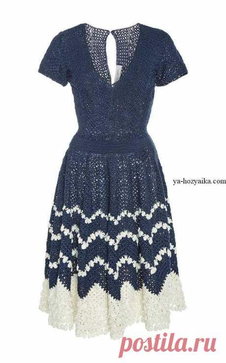 Платье крючком от кутюр схемы. Вязание крючком от кутюр своими руками