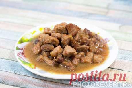Тушеное мясо - более 20 вкусных рецептов тушеного мяса