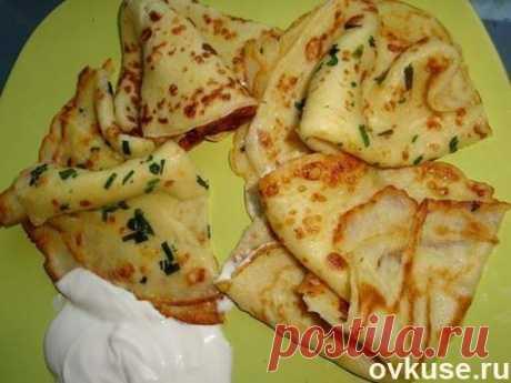 Тонкие картофельные блины - Простые рецепты Овкусе.ру