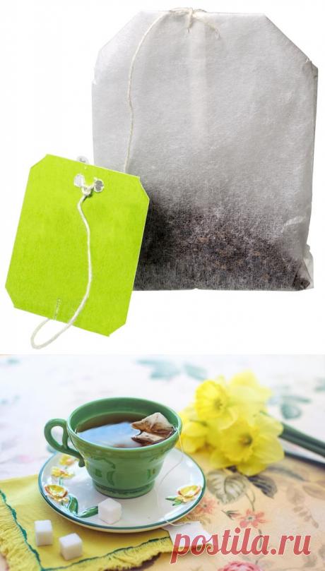 Чай в пакетиках — все таки покупать или нет? | Всегда в форме!
