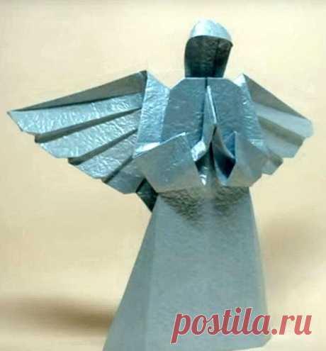 Ангел-оригами своими руками. Мастер-классы