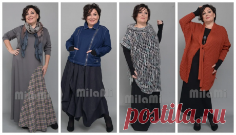 Стильные, модные образы для полных женщин от Милы Михайловой | Для женщин 45+ | Яндекс Дзен