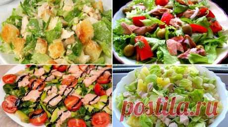10 лучших салатов для вкусного ужина