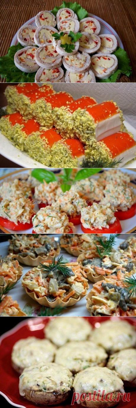 Оригинальные закуски к новогоднему столу: ТОП-5 рецептов