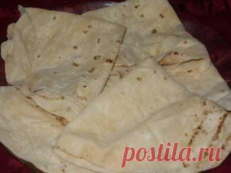 Как приготовить армянский тонкий лаваш на сковороде - рецепт, ингредиенты и фотографии