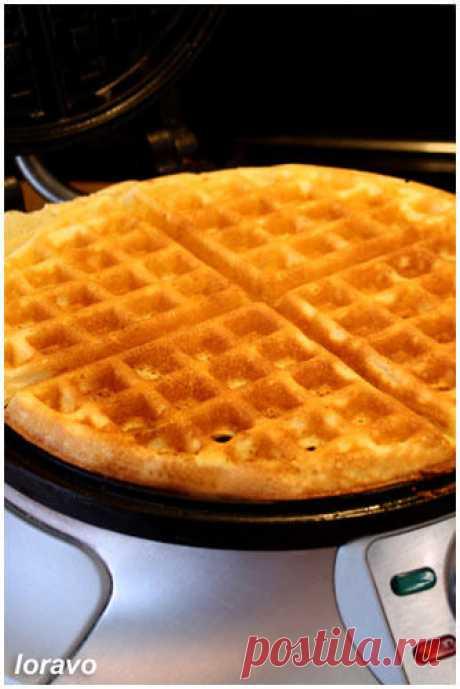 Хрустящие Бельгийские вафли (толстые вафли, гофры) | Blog Loravo: Кулинарные записки дизайнераBlog Loravo: Кулинарные записки дизайнера