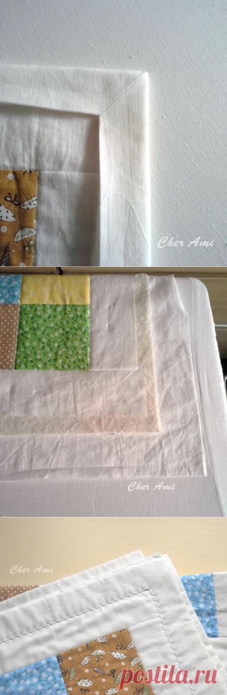 Как пошить лоскутное одеяло